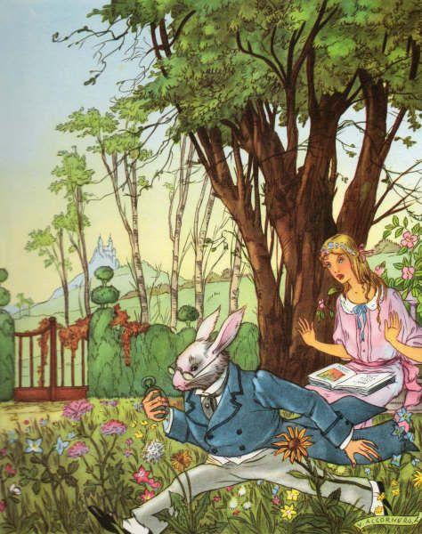 Alice Au Pays Des Merveilles Conte : alice, merveilles, conte, Illustration, Conte, Lewis, Carroll, Illustration,, Alice, Merveilles,, Merveilles