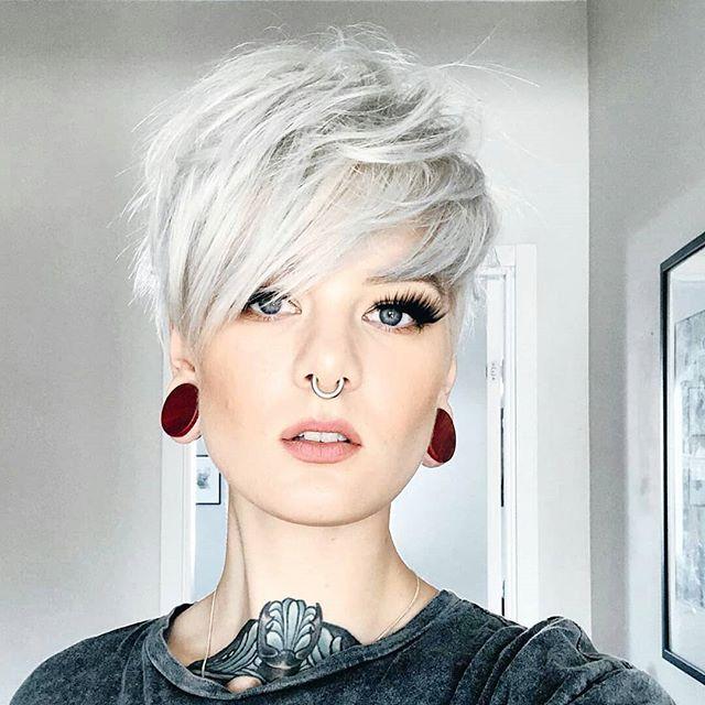 Photo of 41 Inspirierende Pixie Cut Gesichtsform
