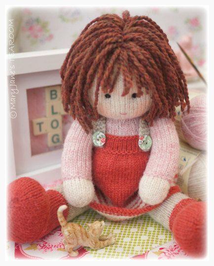 Chrystal Toy Doll Knitting Pattern Knitted Doll Plus Free Pdf