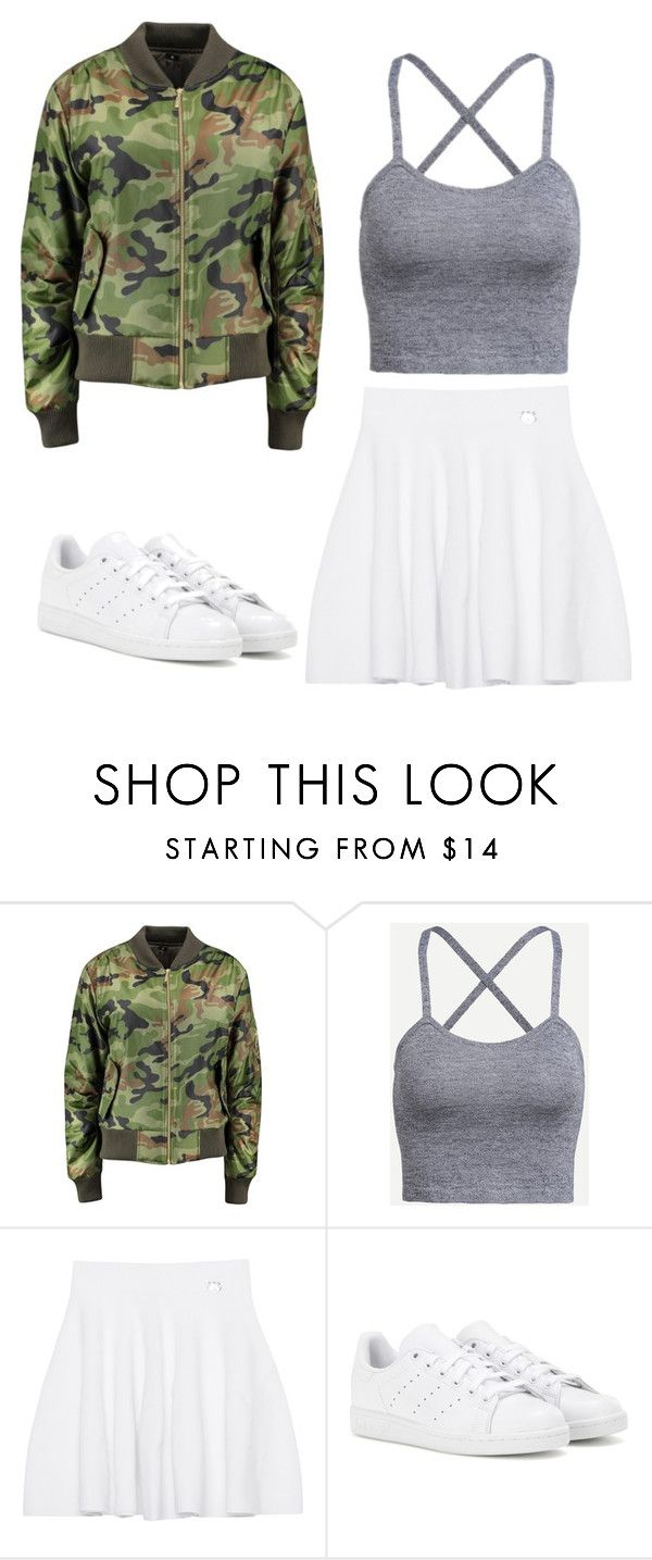"""""""I always have to doubt you"""" by emma-r-villanueva ❤ liked on Polyvore featuring Kenzo and adidas"""