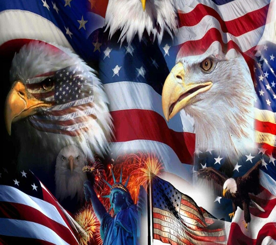american flag eagle cell phone wallpaper pinterest