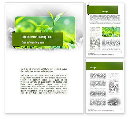 Green Presentation Word Template   wwwpoweredtemplate/word