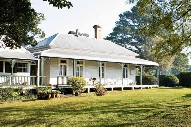 Restored Home In Australia Inspiring Interiors Australian Country Houses House Exterior Australian Homes