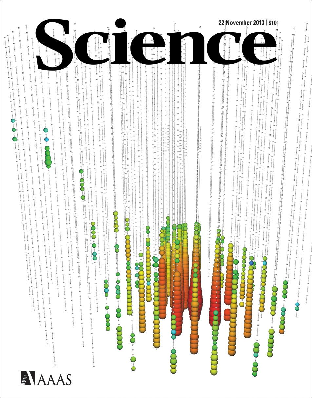 IceCube Telescope finds first cosmic neutrinos, Nov 2013 ...Icecube Neutrino Observatory White Book