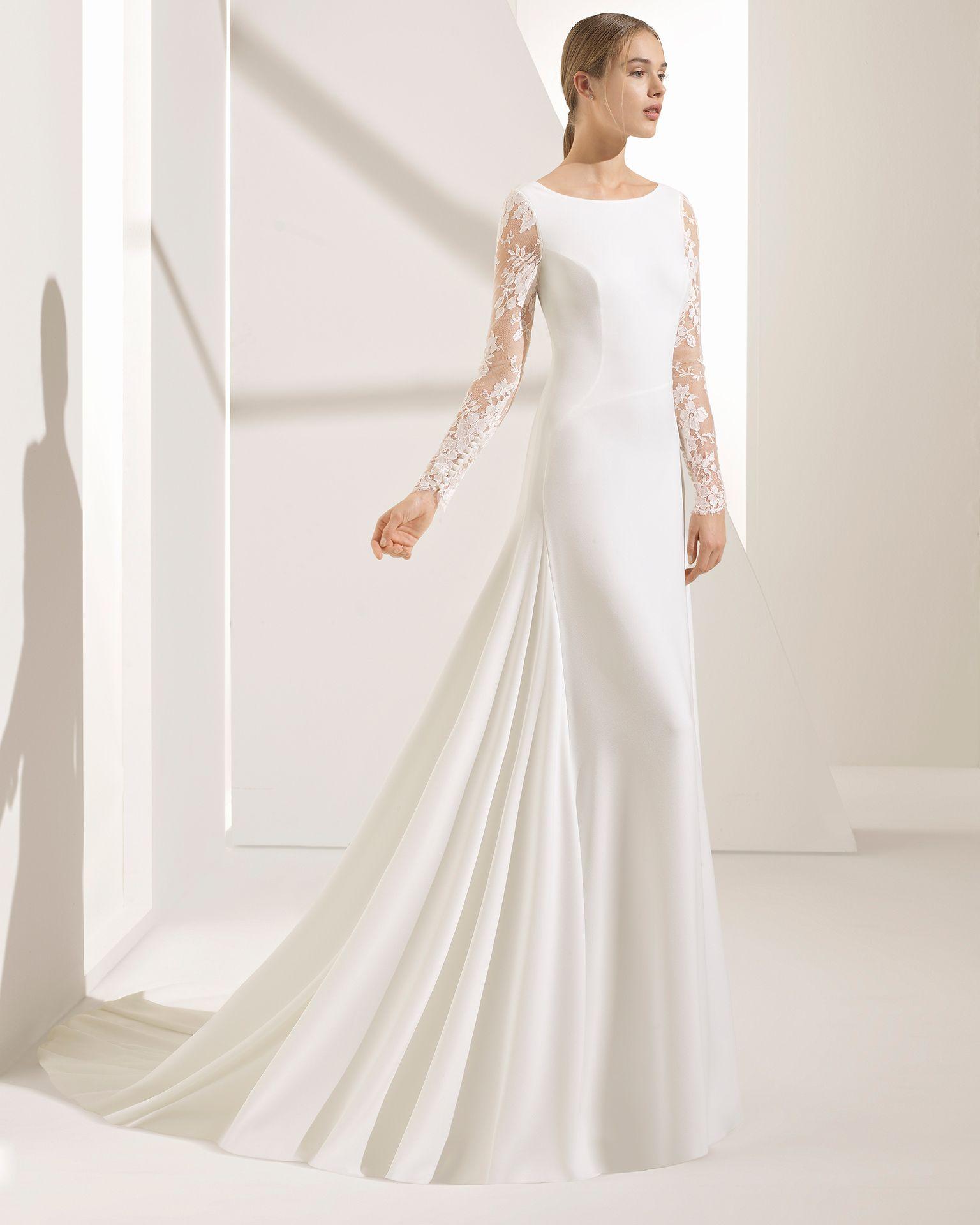 NIOBE - Noiva 2018.Coleção Rosa Clará Couture  76be03096265