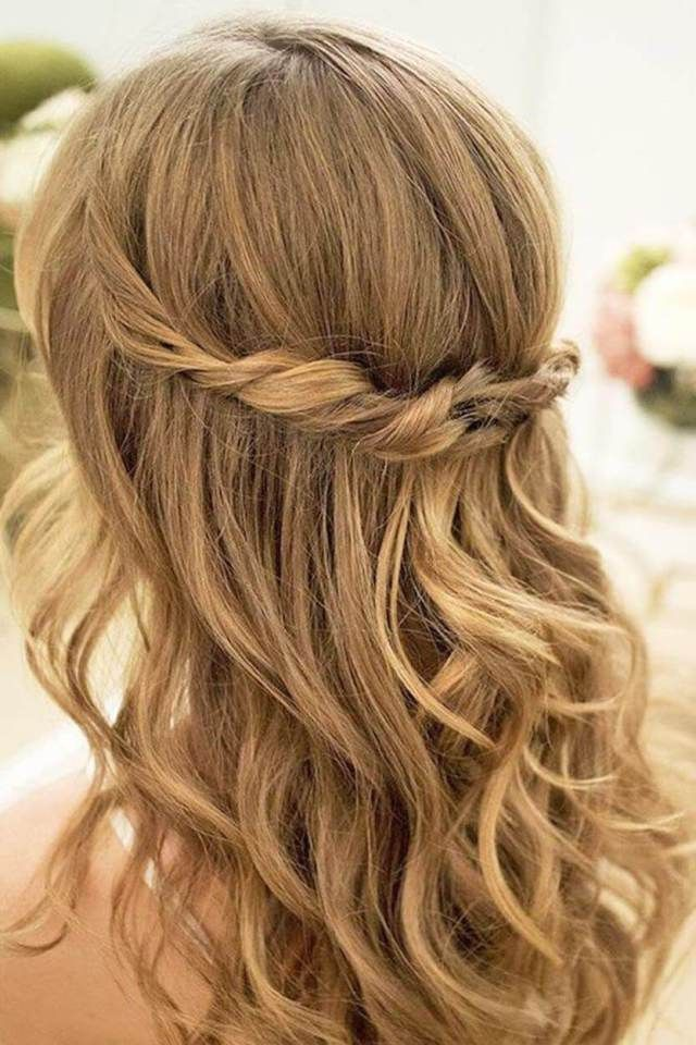 Hairstyles For Wedding Guest 19 Beautiful Wedding Guest Hairstyles For Long Hair  Wedding Guest