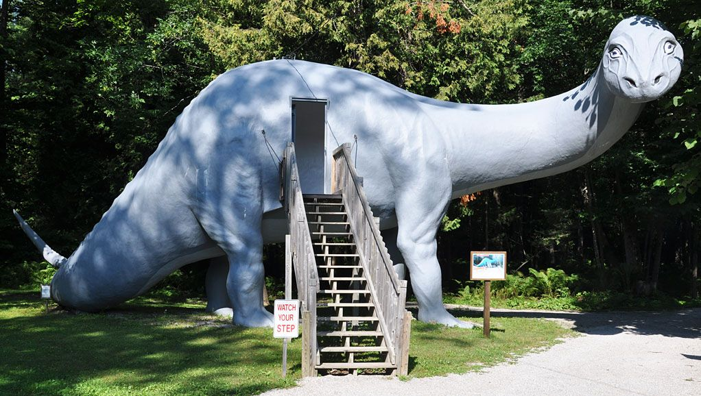 Dinosaur Gardens Ossineke MI Growing up in Michigan Pinterest