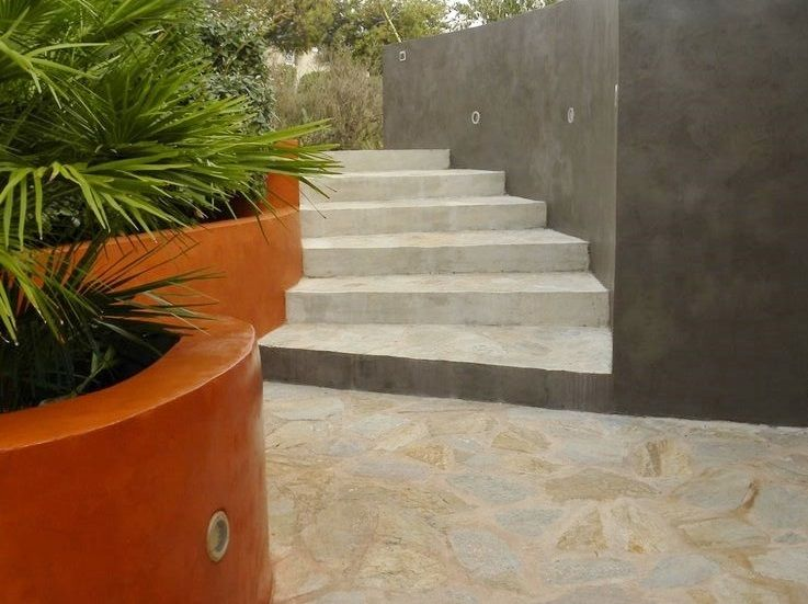 murette jardin escalier - Recherche Google Jardin bordures Pinterest