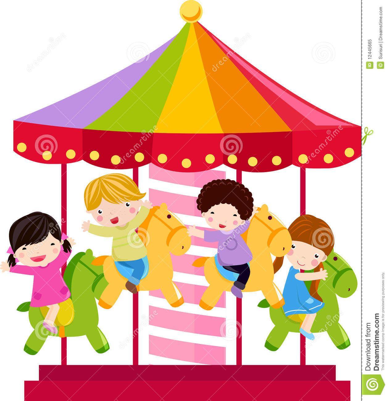 Carrousel Clip Art