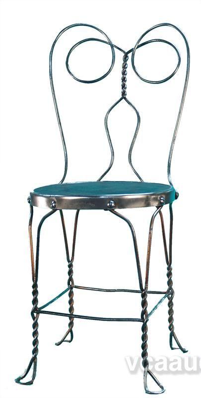 Ice Cream Parlor Chair. Metal FurnitureFurniture DecorSoda FountainIce ...