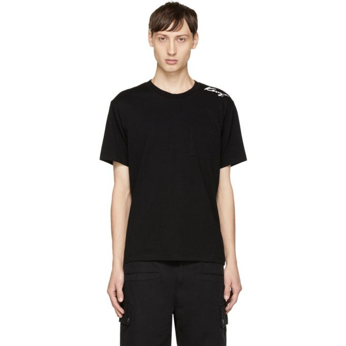 4fe3f575d KENZO Black Small Signature Logo T-Shirt. #kenzo #cloth # | Kenzo ...