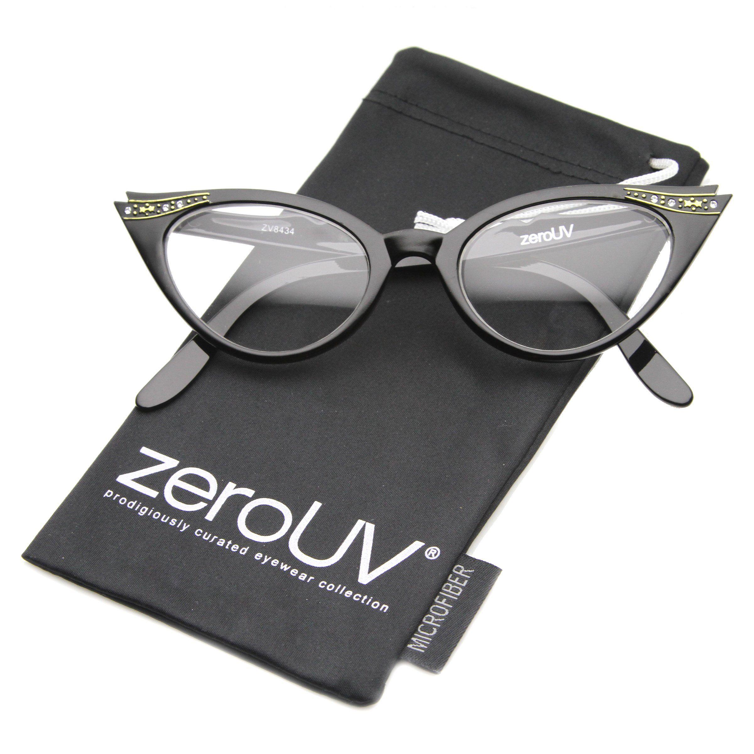 zeroUV Vintage Cateyes 80s Inspired Fashion