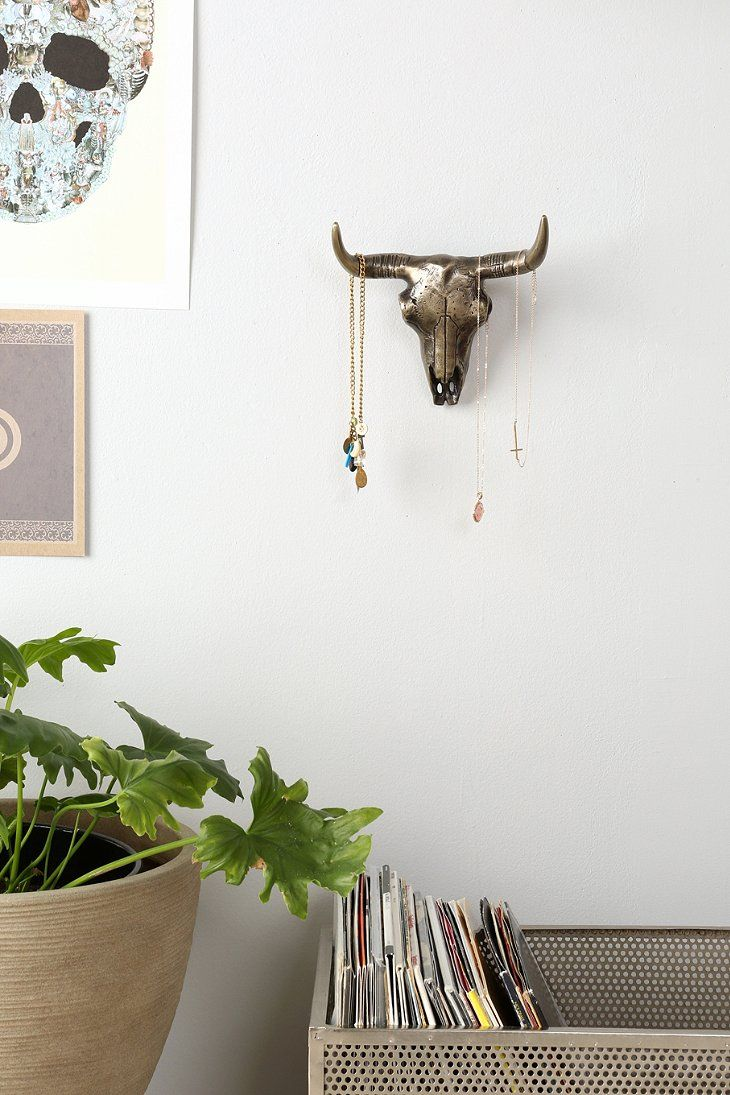 Magical Thinking Bison Skull Wall Sculpture | wall hangings ...