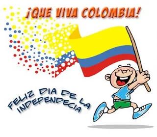 Dia De La Independencia De Colombia En Dibujo Animado Buscar Con Google Feliz Dia De La Independencia Independencia De Colombia Dia De La Independencia