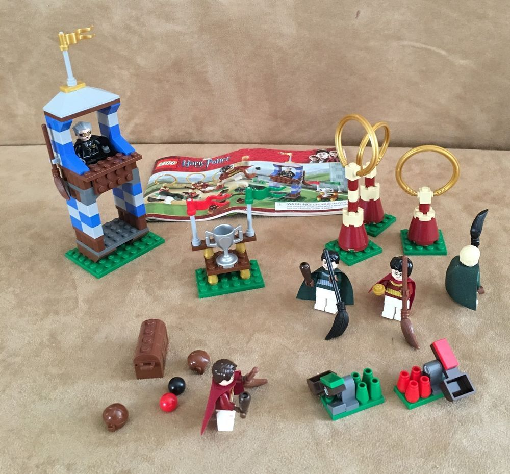 Lego harry potter quidditch match 4737