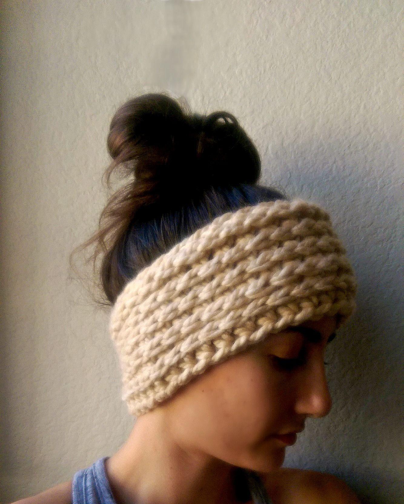 Chunky Crochet Ear Warmer Pattern By Myandgg Crochet Crochet Ear