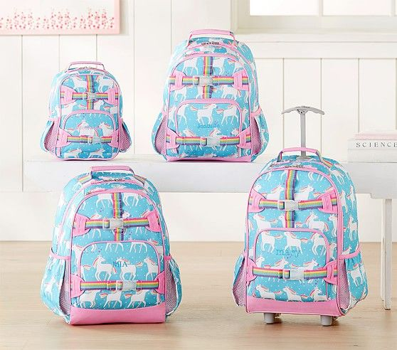 Mackenzie Aqua Unicorn Parade Backpack Backpacks