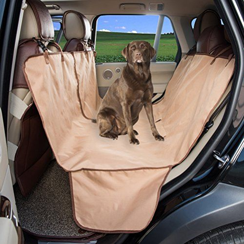 HAPYFOST Pet Car Seat Cover Quilted Water Resistant and Machine ... : quilted bench seat cover - Adamdwight.com