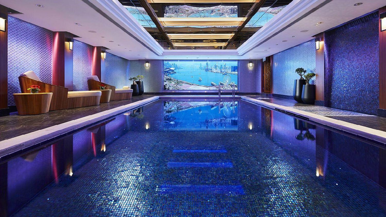 Mandarin Oriental Hong Kong Pool Top  Best Hong Kong Hotels