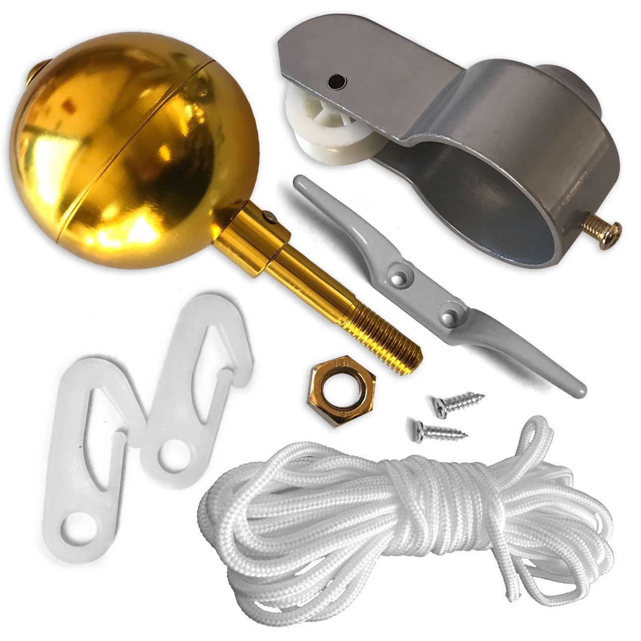 Details about flag pole parts repair kit for replacement