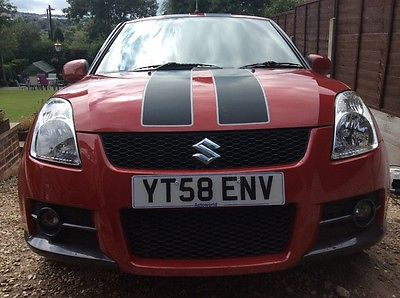 SUZUKI SWIFT SPORT salvage damaged repairable spares or repairs cat
