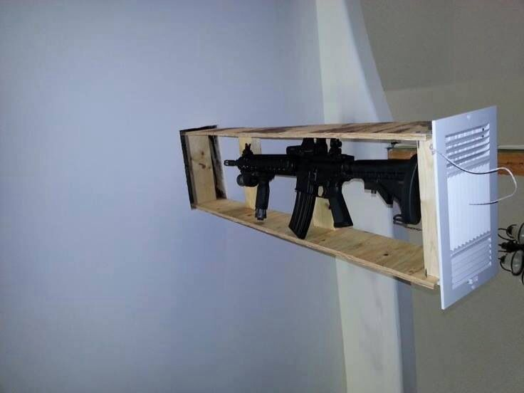 Image result for hidden gun safe
