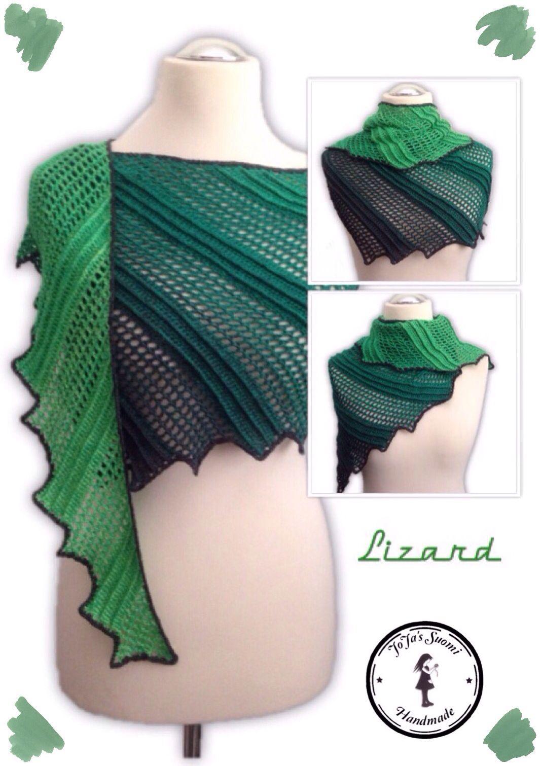Lizard #crochet #pattern | Morben Design | Pinterest | Häkeln ...