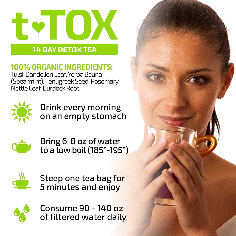 Facial bloating detox