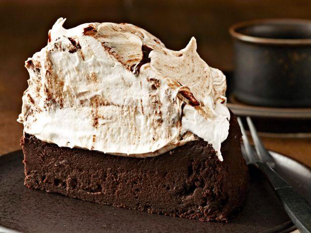Towering Flourless Chocolate Cake...holy cake, batman!