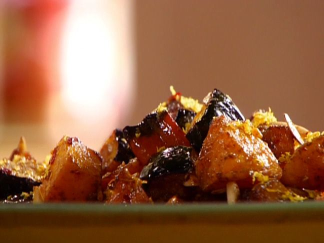 Roasted Squash Toss Recipe : Sunny Anderson