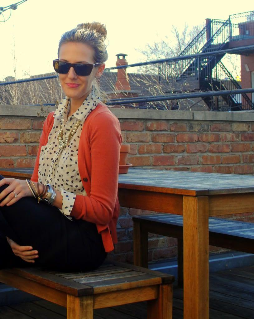 Best 25 Coral Cardigan Ideas On Pinterest Gray Dress