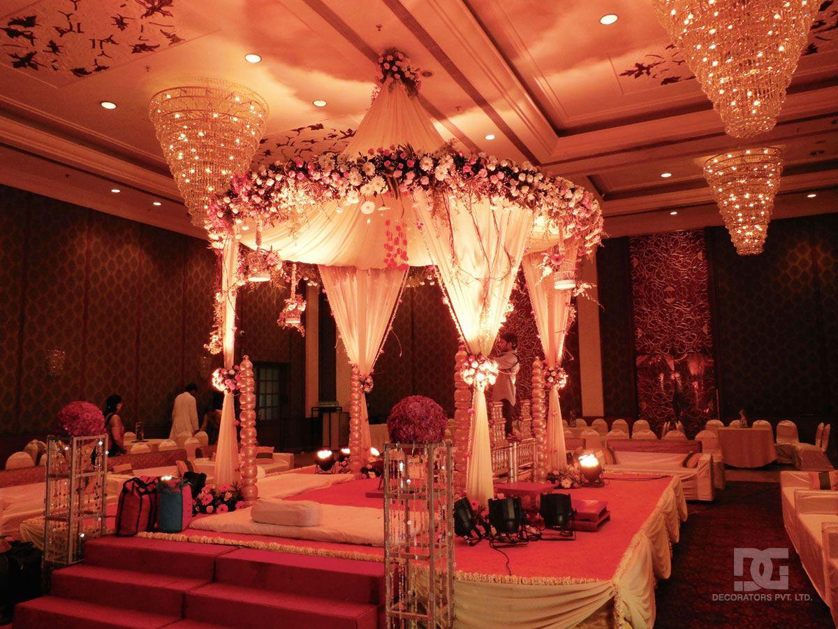 Wedding Decoration Mandap Indoor In 2019 Wedding
