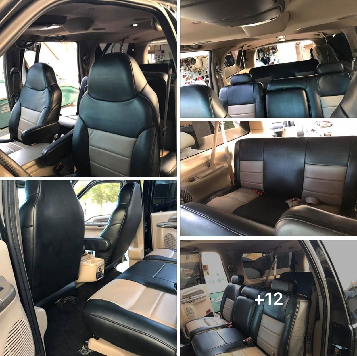 new upholstery for the x lifted excursion ford excursion diesel offroad accessories truck [ 1242 x 1239 Pixel ]