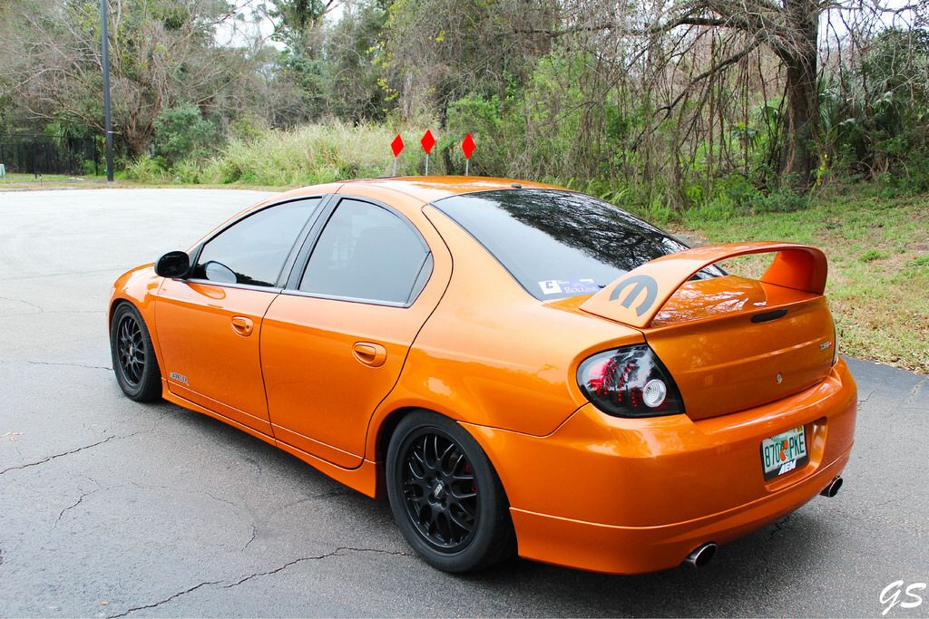 05 Dodge Neon Srt4 Acr Orange Blast Dodge Srt 4 Dodge Neon