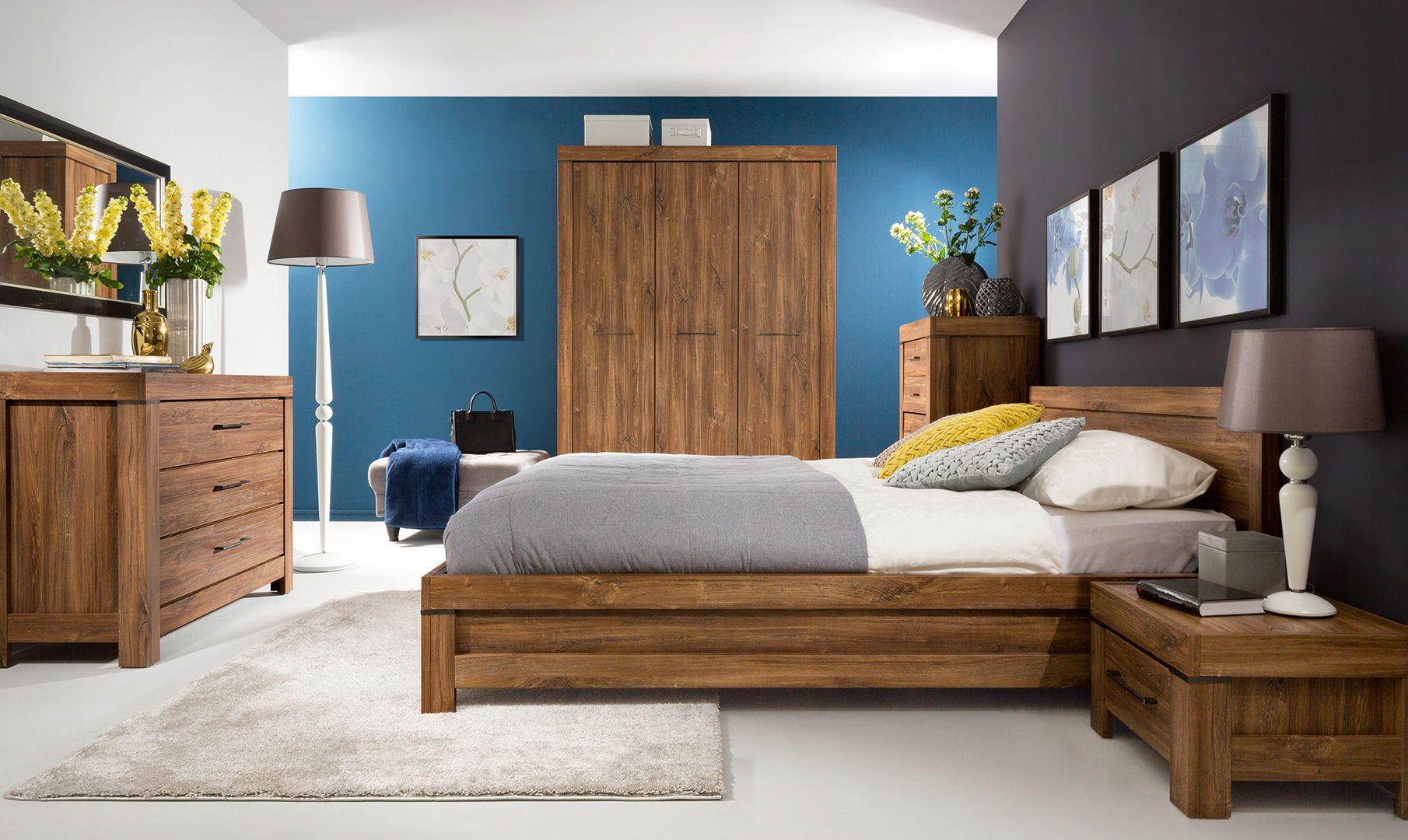 Complete slaapkamer inboedel Rustico bestaande uit een ...
