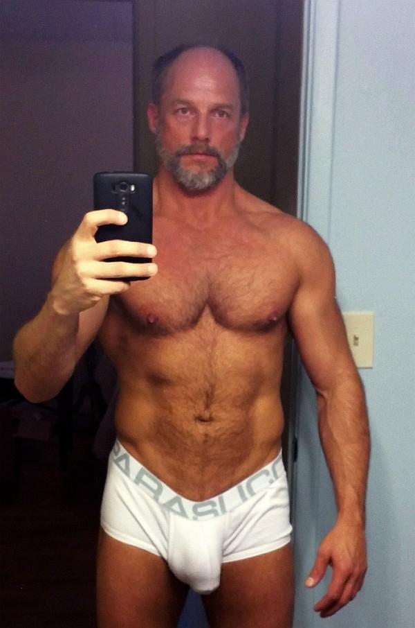 Men in underwear mature