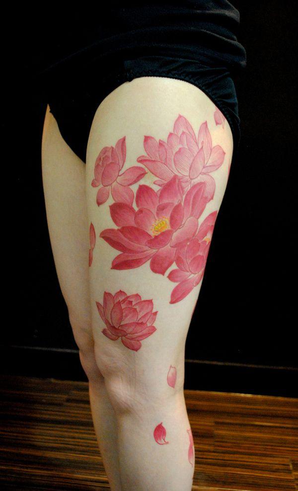 70 Elegant Lotus Tattoo Designs Bodyart Flower Tattoos