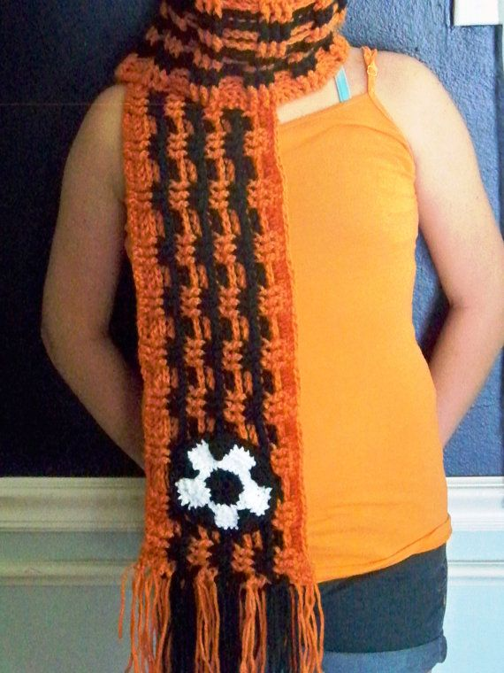 Handmade Custom Soccer Team Spirit Scarf  You by OnTHEHOOKcrochet, $35.00