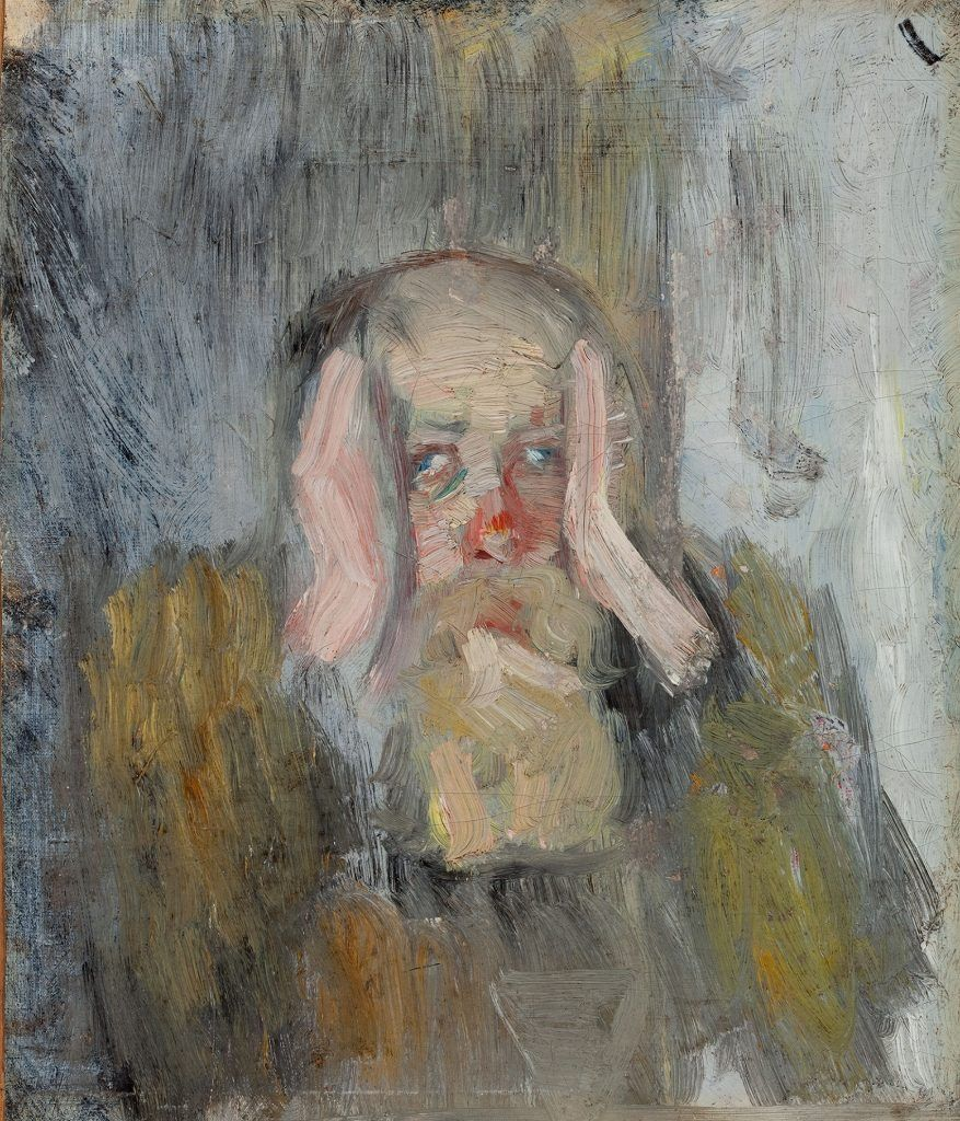 Christian Krohg The Morning After Self Portrait 1883 Self Portrait Portrait Art