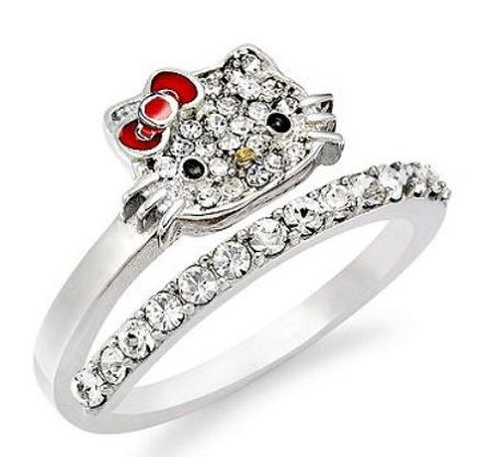 hello kitty wedding ring design ideas httpbestideasnetcomhello - Hello Kitty Wedding Ring