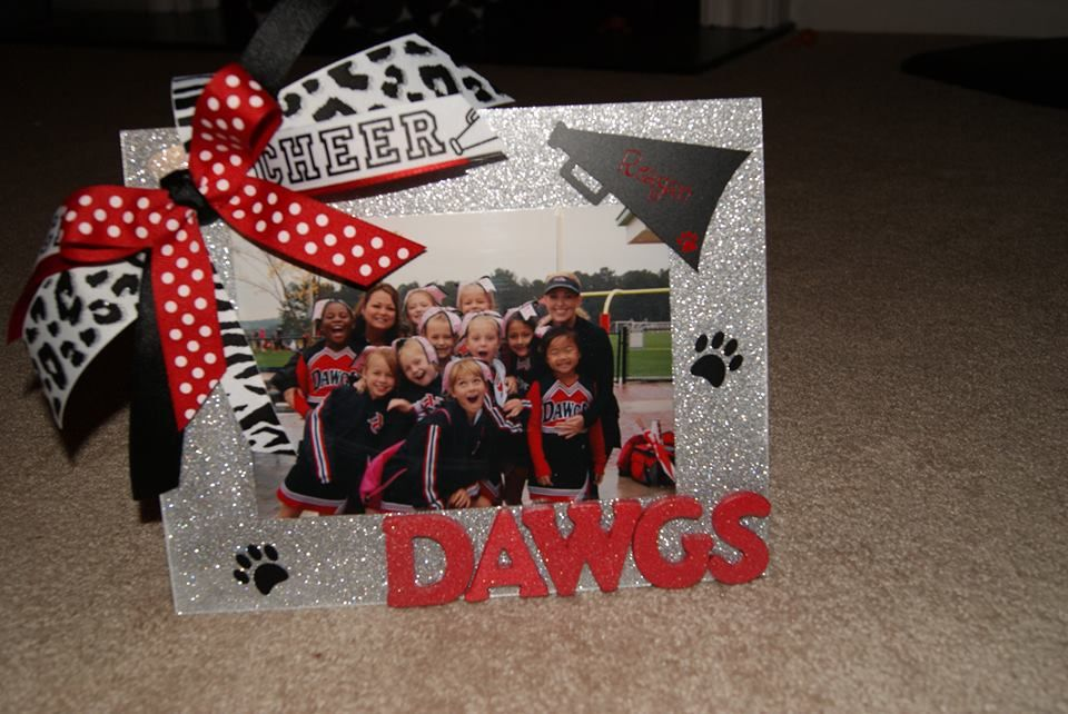 Cheer Picture Frame For End Of Year Gifts Cheerleading Gifts Cheer Coach Gifts Cheer Team Gifts
