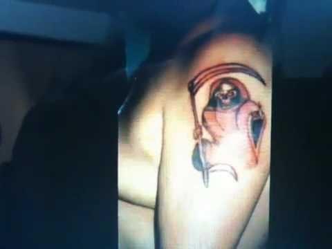 Como Borrar Quitar Tatuaje Sin Laser Santa Muerte La Flaka
