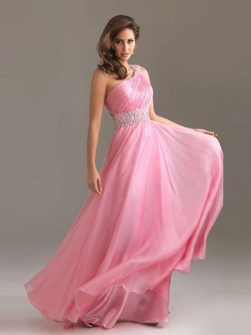 vestido color rosa | Vestido de moda. | Pinterest | Vestido de moda ...