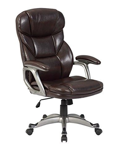 Cool Modern High Back Mocha Pu Leather Hydraulic Executive Alphanode Cool Chair Designs And Ideas Alphanodeonline