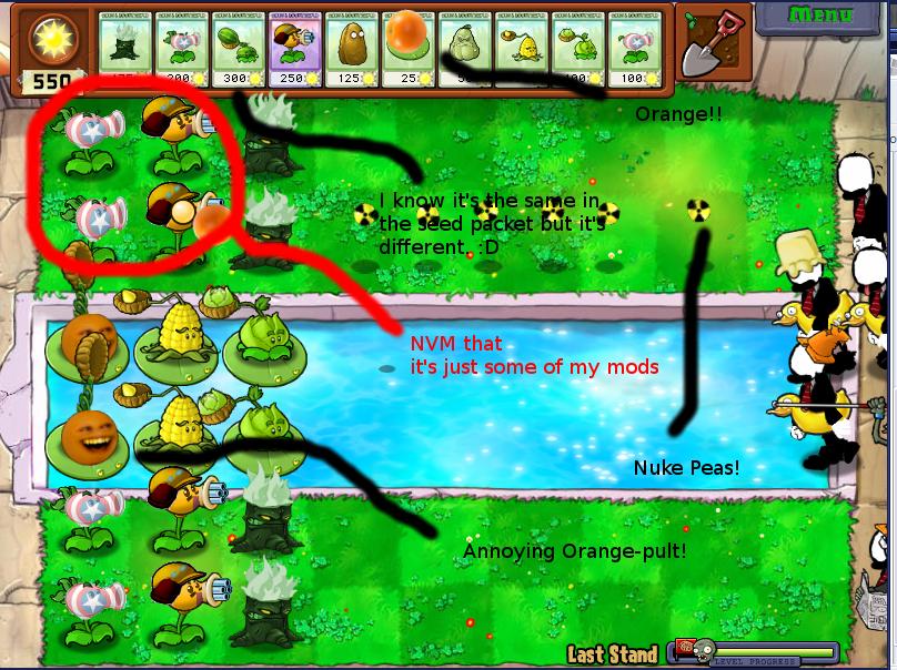 Скачать мод на plants vs zombies 2