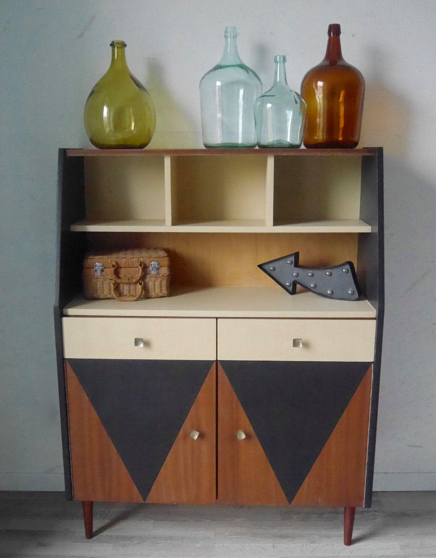 petit buffet lucien des ann es 60 de la boutique gigisweetvintage sur etsy vintage pinterest. Black Bedroom Furniture Sets. Home Design Ideas