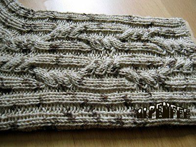 Photo of Zopfmuster für Socken – Pattern for Socks with cables