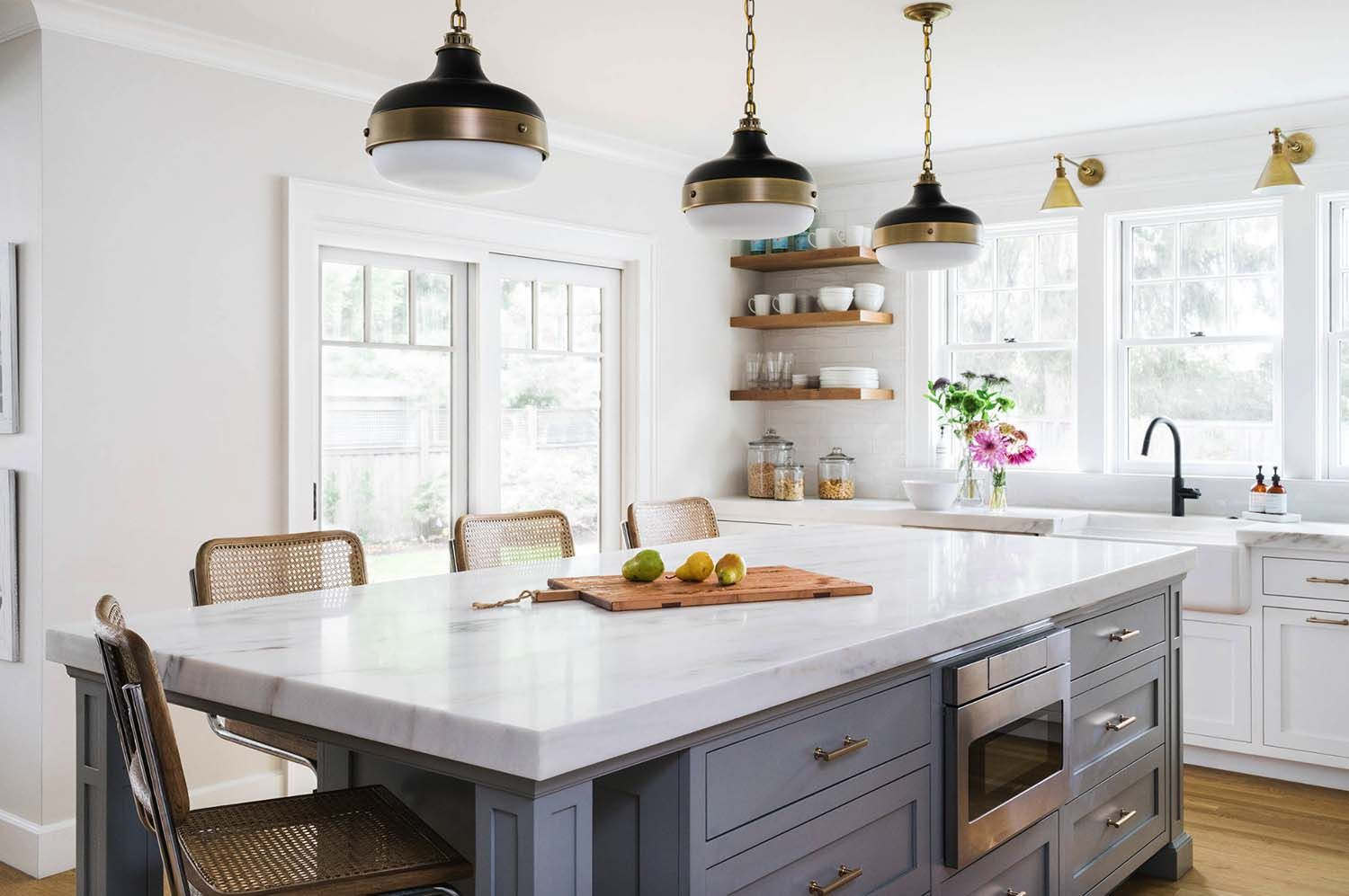 Beautifully Renovated Dutch Colonial Style Home Nestled In New England Kitchen Cabinets Decor Kitchen Cabinet Design Kitchen Design