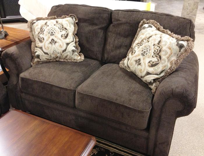 Java #Loveseat The Soft Chenille Upholstery