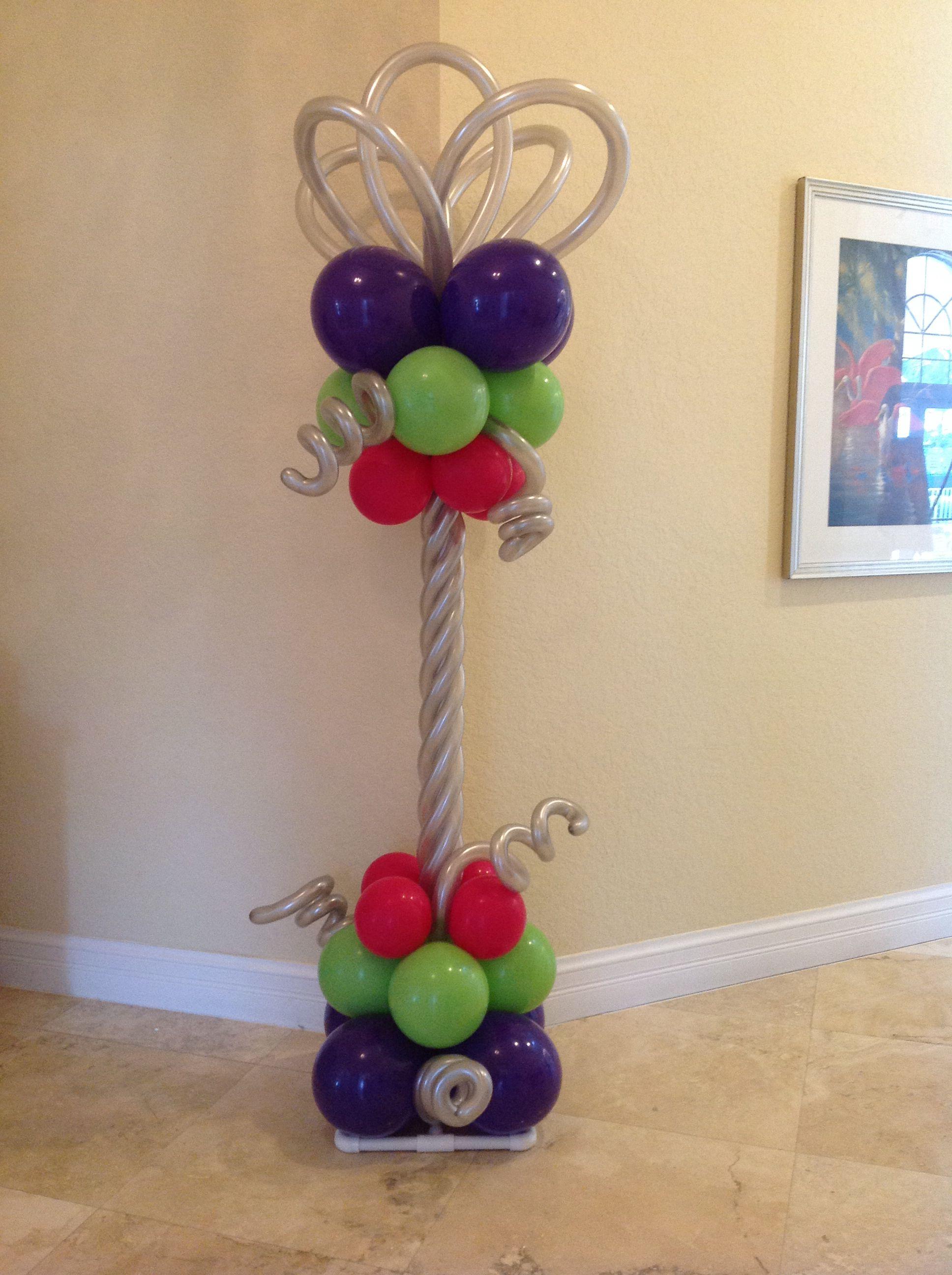 Balloon column http pinterest serenityhs